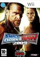 Packshot for WWE SmackDown vs. Raw 2009 on Wii