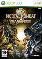 Packshot for Mortal Kombat vs. DC Universe on Xbox 360