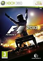 Packshot for F1 2010 on Xbox 360