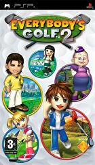 Packshot for Everybody's Golf 2 on PSP