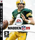 Packshot for Madden NFL 09 on PlayStation 3