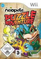 Packshot for Neopets Puzzle Adventure on Wii