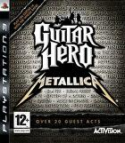 Packshot for Guitar Hero: Metallica on PlayStation 3