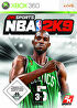 Packshot for NBA 2K9 on Xbox 360