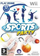 Packshot for Sports Party on Wii