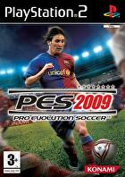 Packshot for Pro Evolution Soccer 2009 on PlayStation 2