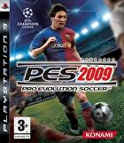 Packshot for Pro Evolution Soccer 2009 on PlayStation 3