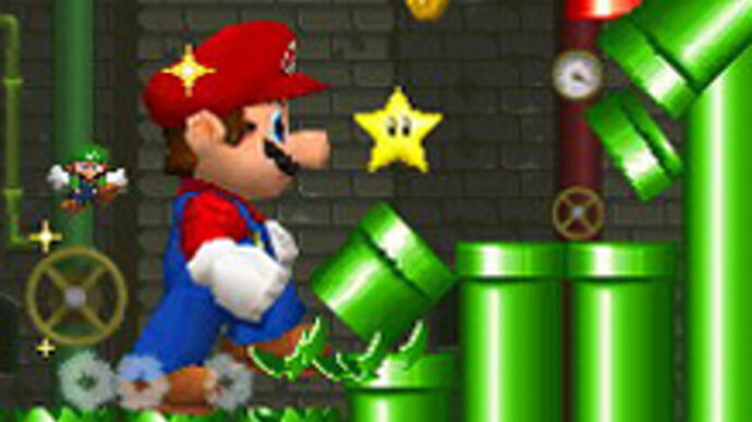Nintendo announces new side-scrolling 3DS Mariogame