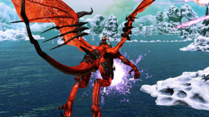 Microsoft makes Kinect Xbox 360 exclusive Crimson Dragon official