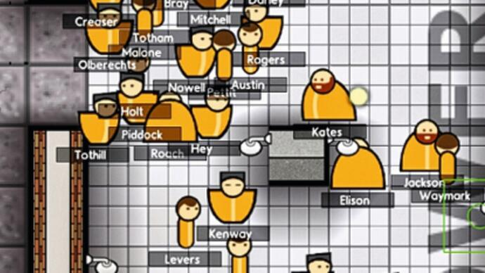 Prison Architect Preview: The Key to Success