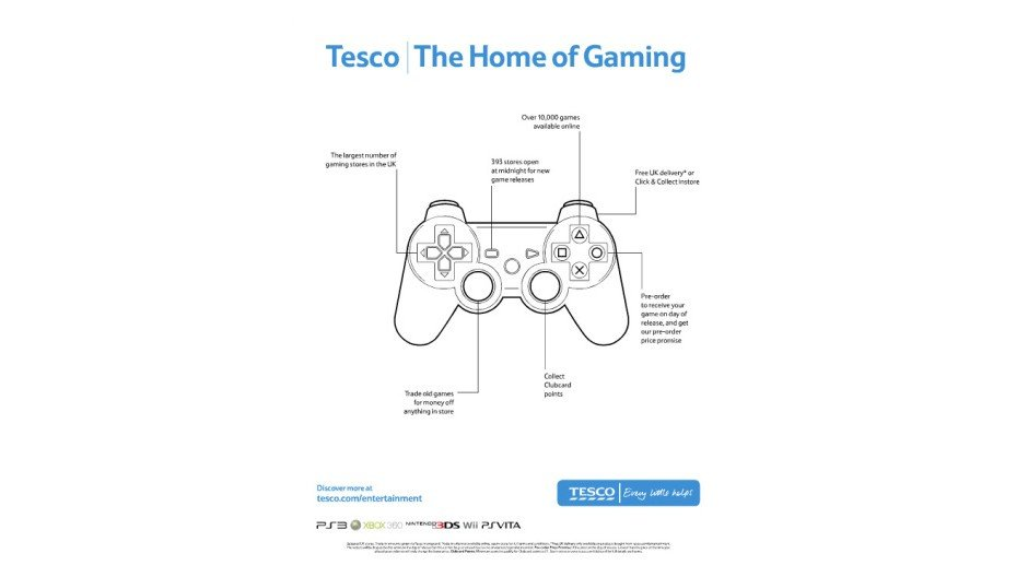 "'Tesco claims it's ""The Home of Gaming"" in new ad' Screenshot 1"