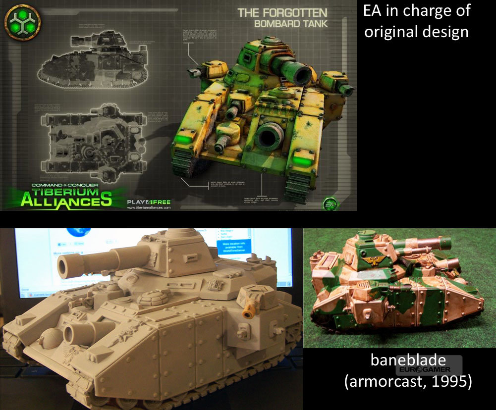 'EA accused of copying Warhammer 40k tanks for Command & Conquer Tiberium Alliances' Screenshot 3