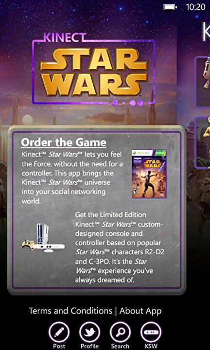 Kinect Star Wars app on iOS, Android today • Eurogamer net