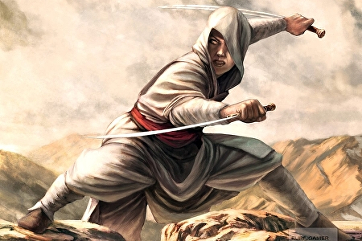 Early Assassin S Creed Concept Art Reveals Cut Features