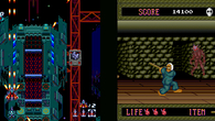 Soldier Blade and Splatterhouse.
