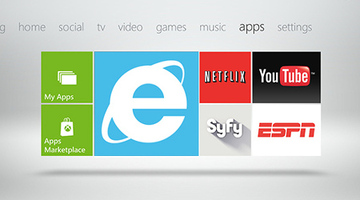 Microsoft bringing Internet Explorer to Xbox 360