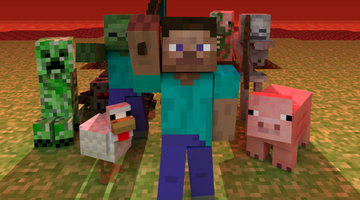 Minecraft XBLA ruffles developer feathers