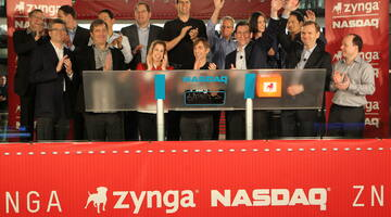 Zynga stock plunges, trading halted