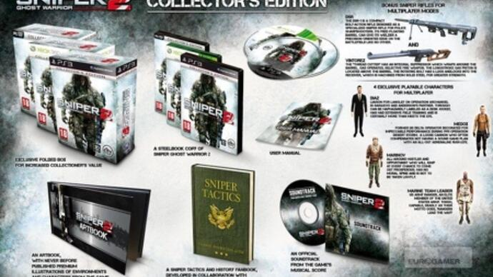 Sniper: Ghost Warrior 2 Collector's and Limited editionsannounced