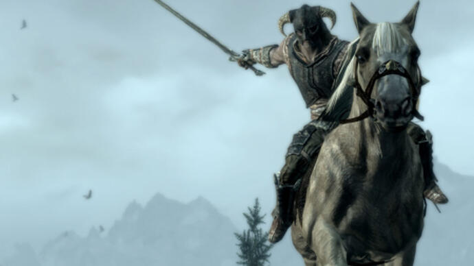 Skyrim gets mounted combat in new update