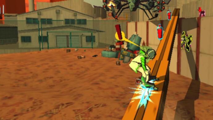 Jet Set Radio announced for PlayStation Vita