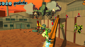 PlayStation Vita gets tagged by Jet Set Radio HD
