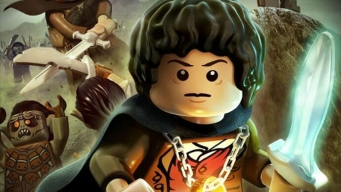 First Lego Lord of the Rings trailer, artwork