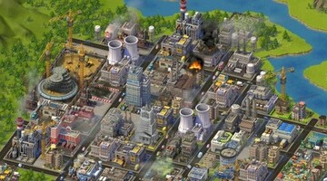 SimCity goes social