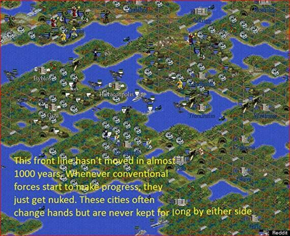 10-year-long Civilisation 2 game offers grim outlook for mankind