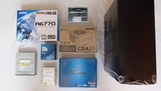 Everything we need to build a very decent games PC on a modest budget of just 300 quid.