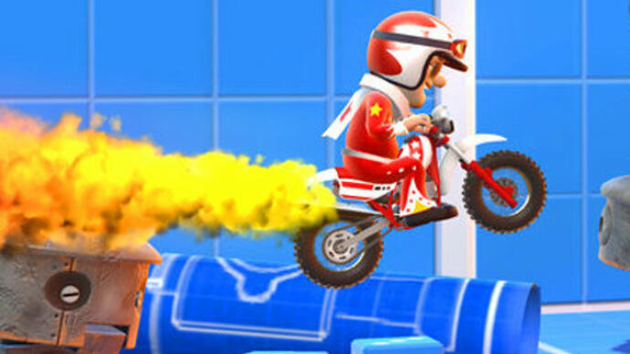 Joe Danger Touch announced for iPhone,iPad