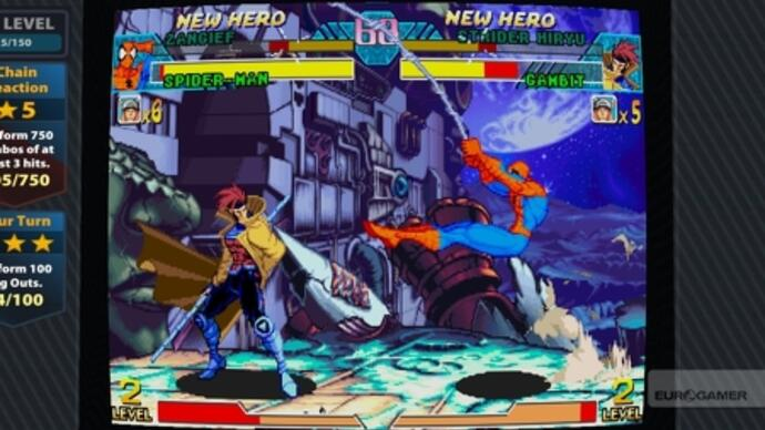 Marvel vs. Capcom Origins announced with debut trailer, screens