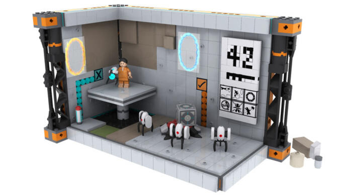 Portal Lego set goes into review