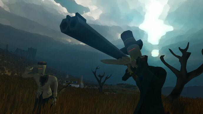 First-person survival game Sir, You are Being Hunted debuts teaser trailer