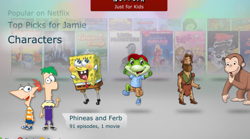 Netflix launches 'Just for Kids' section on Xbox 360