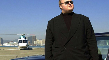 Megaupload raid video surfaces online