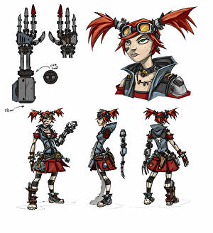 Borderlands 2: Gearbox reveals the Mechromancer's