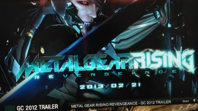 Metal Gear Rising: Revengeance release date, video