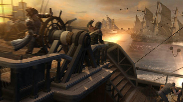 Assassin's Creed III: New Naval Combat