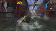 Hydro Thunder Hurricane is the most technically advanced - and indeed expensive - game currently available but it is marred by sub-native visuals and choppy frame-rate.