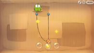 Cut the Rope is exactly as you'd expect, albeit running with a performance and resolution deficit compared to the iPad version.