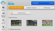 And there it is, FIFA 13 for �14.99. Thanks to Richard Leadbetter's Mii for the images.
