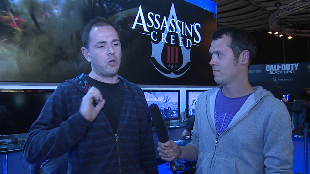 Eurogamer Expo 2012: Assassin's Creed III Director Speaks
