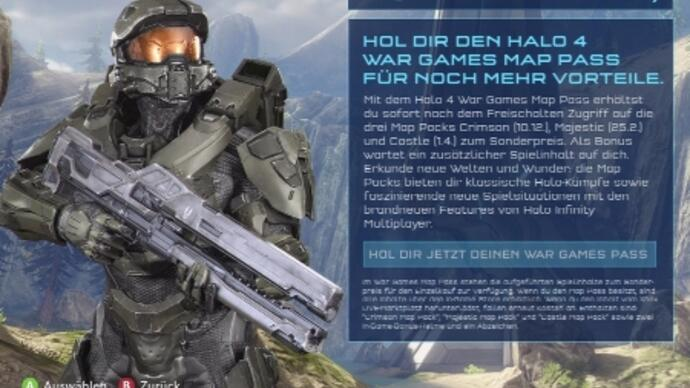 Halo 4 map packs release date leaked -rumour