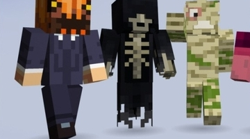 Minecraft Halloween skin pack raises $770k for charities