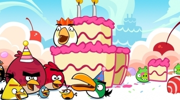 Angry Birds nets 8 million downloads on Christmas