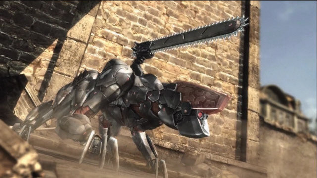 Metal Gear Rising - Killing The Bladewolf