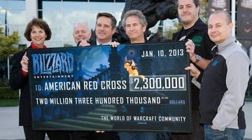 Blizzard raises $2.3m for Sandy survivors