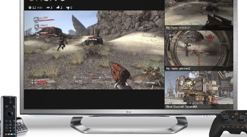 OnLive launches on LG's Google TVs