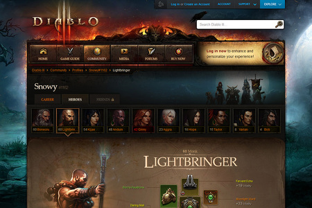 Diablo III Official Game Site - Battlenet